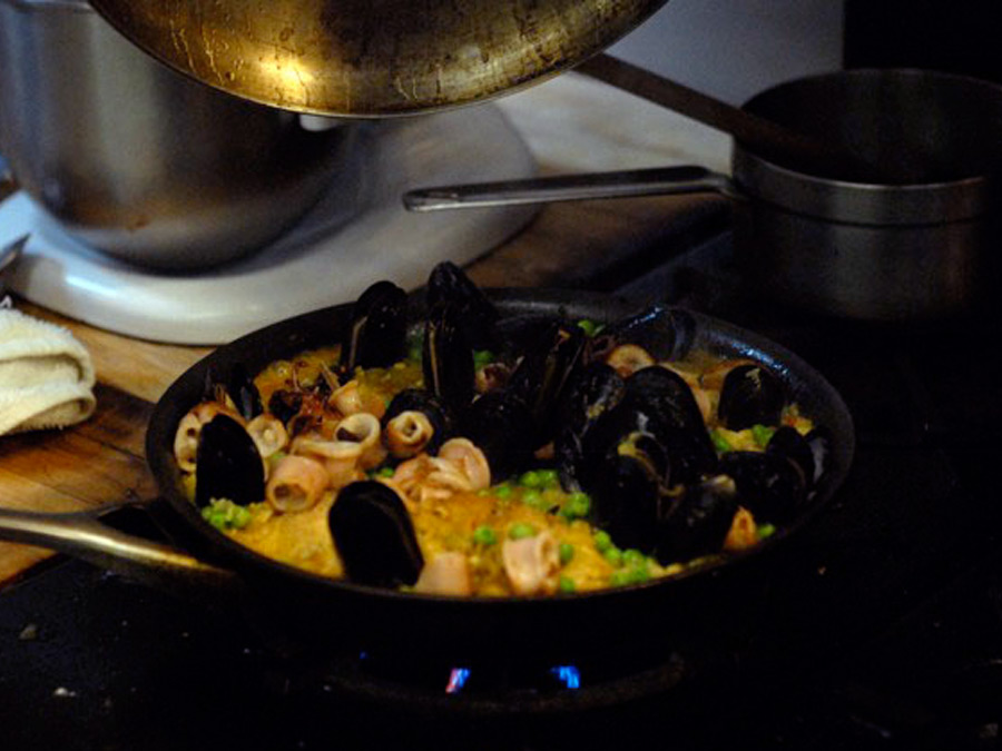 Mussels home chef